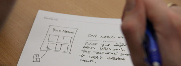 Newsprint to demo at EPSRC Digital Futures