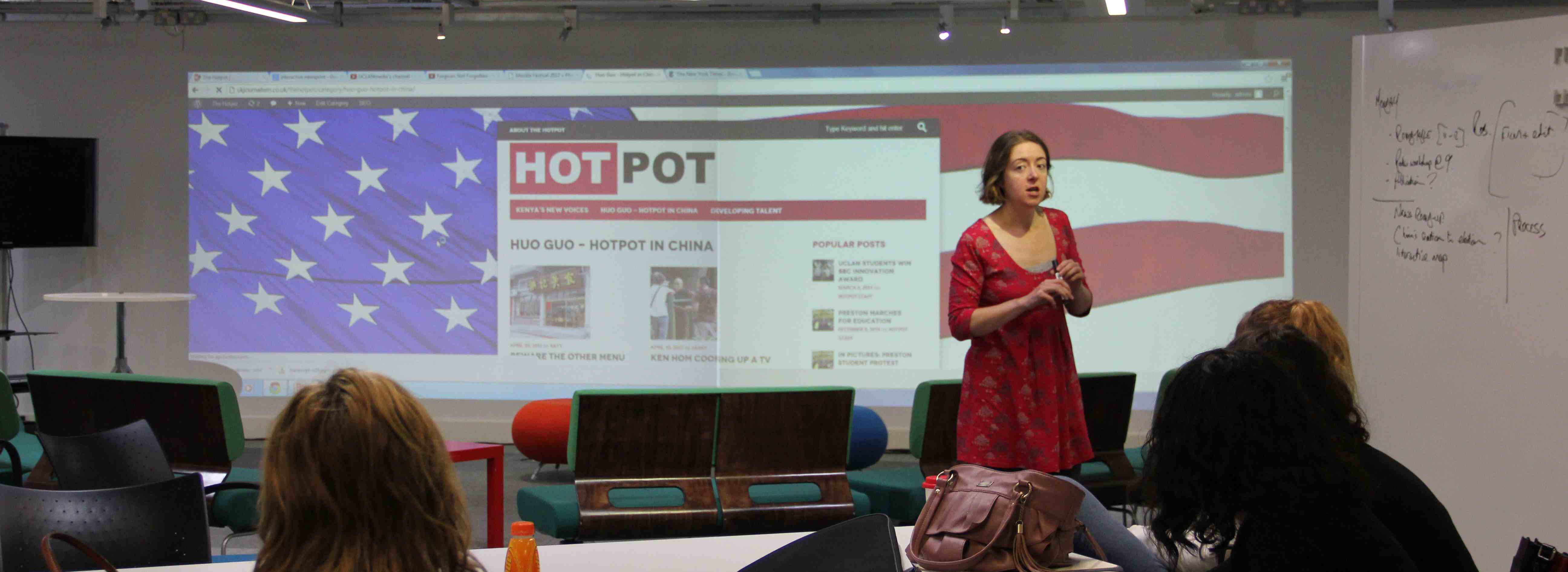 Media Innovation Studio serves up HotPot