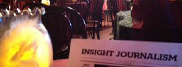 'Insight Journalism' in NYC