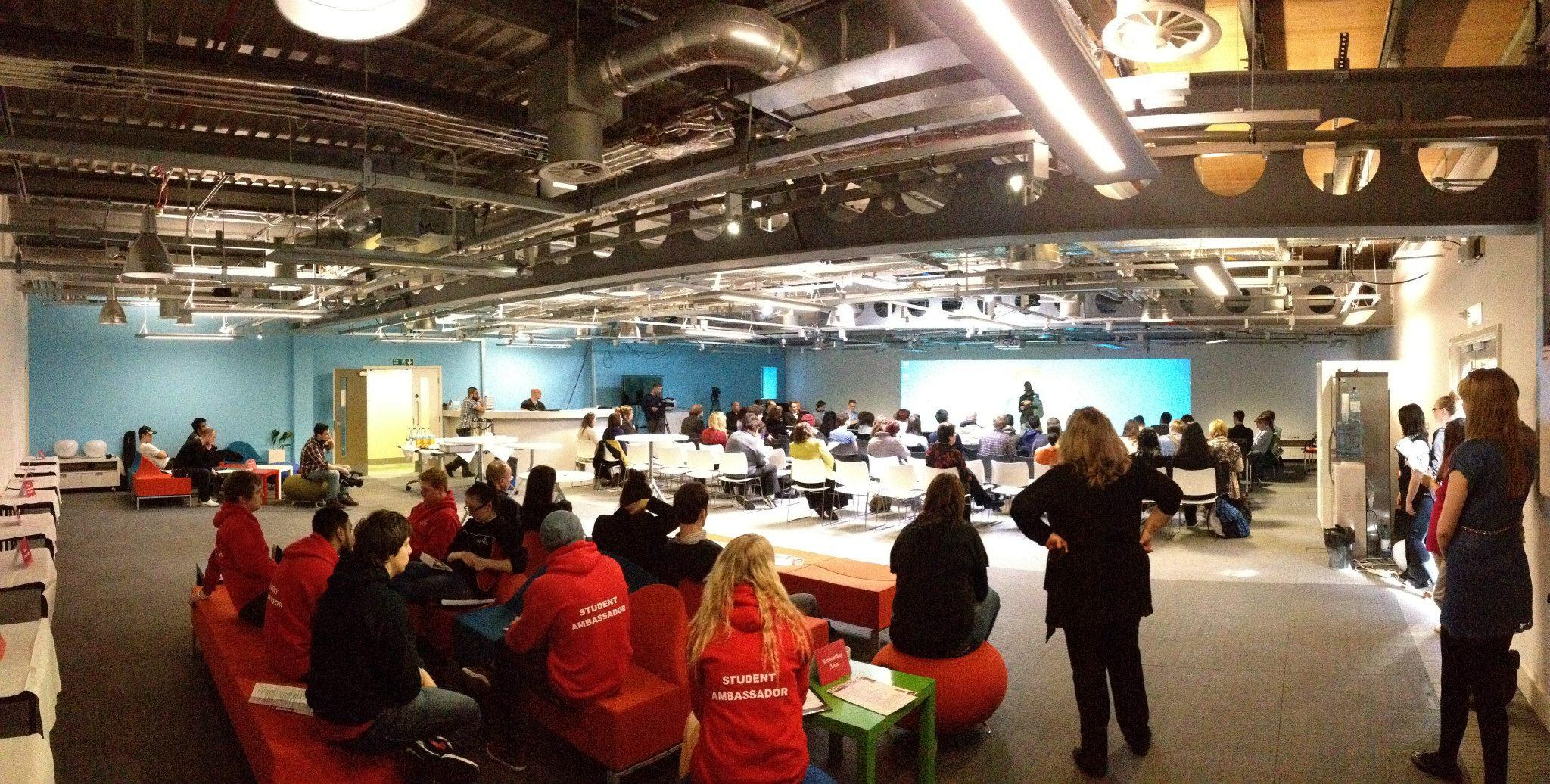 Media Innovation Studio hosts UCLan careers event