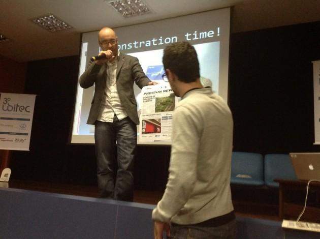 Interactive Newsprint demonstration