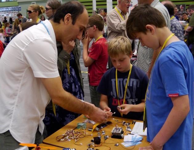 Siamak and drone sensors
