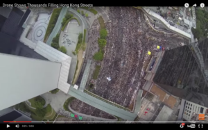 Pro-democracy protests in Hong Kong, captured by Nero Chan