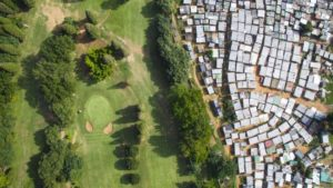 Johhny Miller's drone images capture the legacy of apartheid in South Africa